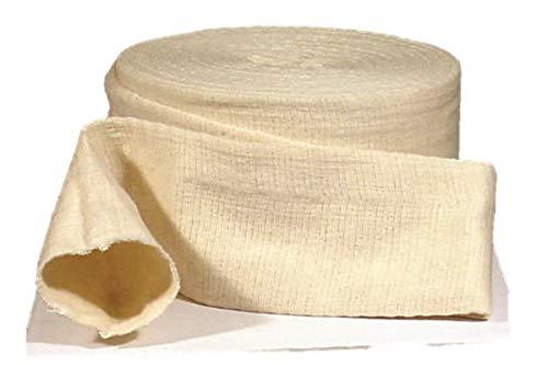 """Tetra-Grip Tubular Elastic Support Bandage Size D, 3"""" x 11 Yd Latex-Free, One 11 yd Roll per Box"""