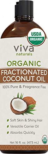 Organic Fractionated Coconut Oil