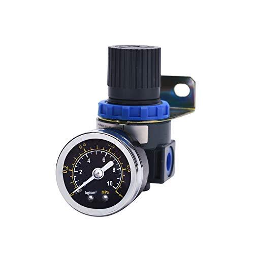 Neue Druckminderer für Druckluft Werkzeug Kompressor, Druckregler 1/4 Zoll