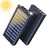 Aikove Portable Charger Power Bank 24000mAh Batterie Externe 3 Ports USB avec 2 Ports d'Entrée (Micro 2.4A USB) pour Autre Smartphone, Tablettes