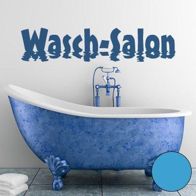 A376 - Adhesivo de pared (120 x 27 cm, disponible en 40 colores y 5 tamaños), color azul claro