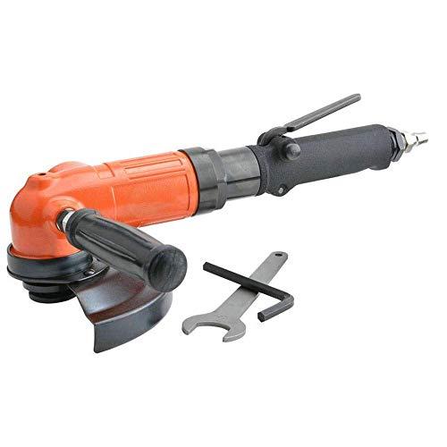 HUAQINEI Herramientas neumáticas Amoladora Angular neumática de 180 mm, Amoladora Angular Industrial Pesada de Alto par para reparación de automóviles