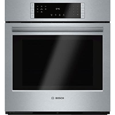 "Bosch HBN8451UC 800 27"" Stainless Steel Electric Single Wall Oven - Convection"