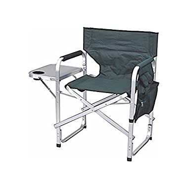 Stylish Camping SL1204GREEN Full Back Folding Director's Chair