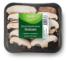 Fresh Brand – Sliced Shiitake Mushrooms, 5 oz