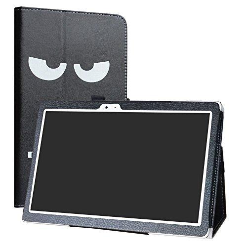 Teclast T10 Tablet /T20 4G Custodia,LiuShan slim Sottile Pieghevole con supporto in Piedi caso per 10.1' Teclast T10 Tablet /T20 4G Android Tablet (Non è adatto per Teclast X10),Don't Touch