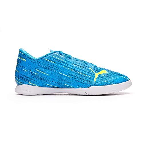 Puma Ultra 4.2 IT JR, Zapatillas de Futsal Unisex niños, Nrgy Blue Yellow Alerta, 30 EU