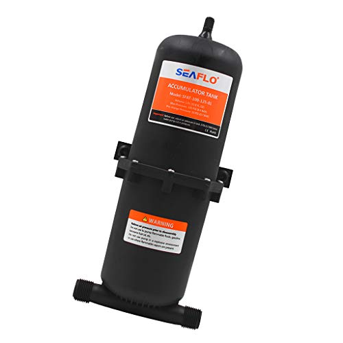 Almencla 1 Piece 1L Wohnmobil Hochdruckpumpe Membranpumpe, Geringe Stromaufnahme und Hohe Leistung