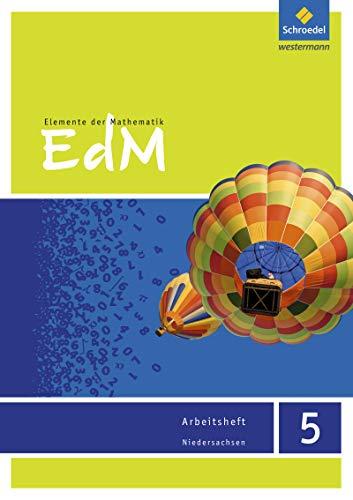 Elemente der Mathematik SI - Ausgabe 2015 für Niedersachsen G9: Arbeitsheft 5