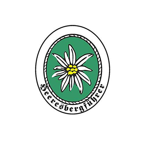Aufkleber/Sticker Heerbergsführer Gebirgsjäger Abzeichen Wappen 4x7cm A715