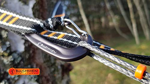 BUSHMEN Travel Gear ブッシュメン トラベル ギアULTRALIGHT - Hammock suspension system ウルトラライト サスペンションシステム 日本正規品