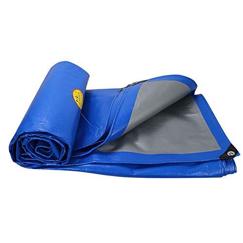 YUN-X Bâche imperméable avec oeillets Toile de protection solaire pour tente de protection solaire avec bâche anti-pluie, 200g / m² (taille : 5Mx7M)