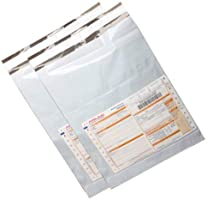 SECUREMENT® Pod Courier Bags with Pouch, 12 x 16 Inches -100 Pieces