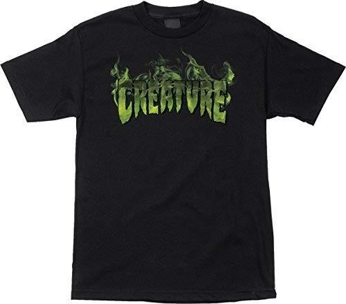 Proud & Co. Creature Skateboards Inferno Black Men T-Shirt Short Sleeve