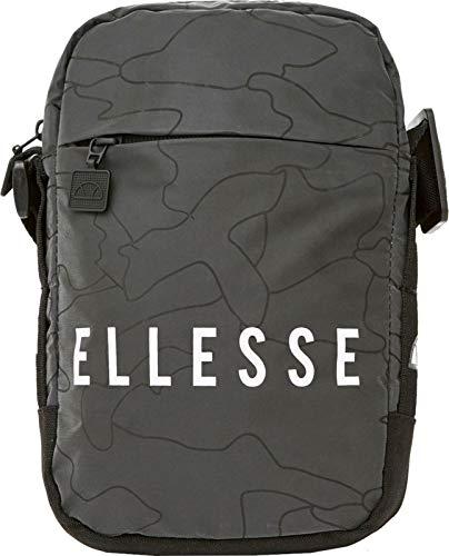 Ellesse Mack Item Bag, Bolso bandolera Unisex Adultos, Negro (Black), 15x24x45 cm (W x H x L)