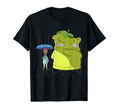 Bob's Burgers Louise & Kuchi Kopi Rain Portrait T-Shirt