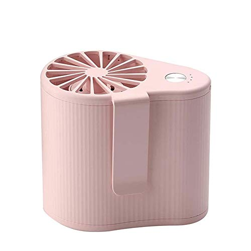 ZBQLKM Mini ventilador portátil, escritorio del USB del ventilador, mini conveniente que cuelga de la cintura pequeño ventilador portable al aire libre del hombro de la cintura del ventilador ventilad
