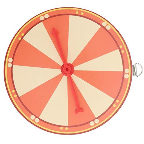 VALICLUD Ruota del Premio Rotante Montaggio a Parete Lotteria Casuale Ruota del Gioco Vincere Fortuna Spin Gioco per Fiere Carnevale Casinò Festa Mercato Lotteria