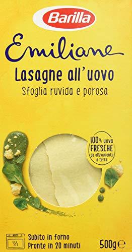 Barilla Pasta all'Uovo Le Emiliane Lasagne Classiche, 500 g