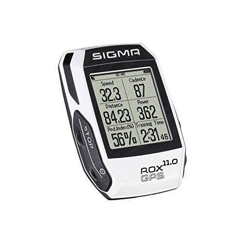 Sigma Sport Fahrrad Computer ROX 11.0 GPS Set white, Track-Navigation, Smart-Connectivity, Strava, Weiß