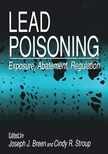 Lead Poisoning: Exposure, Abatement, Regulation