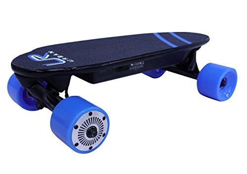 URBAN ROVER UR-1 Mini Skate eléctrico, Azul, M