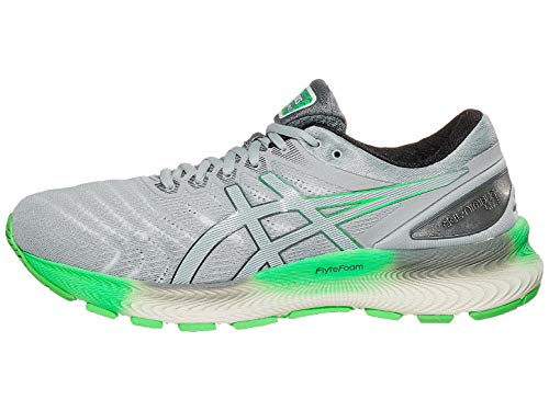 ASICS Men's Gel-Nimbus Lite Running Shoes, 10.5M, White/Piedmont Grey