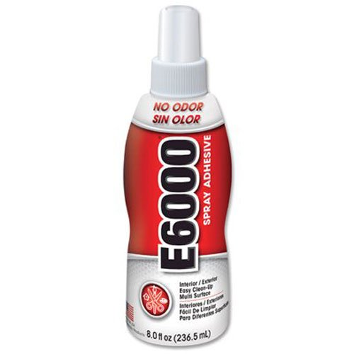 E6000 Adhesive Spray 8 OZ Each