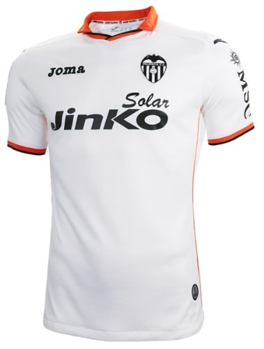 Joma Valencia Home 2013-14 Soccer Jersey (US Size: XL)