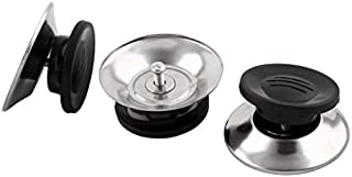 eDealMax mango de plástico de cocina Sartén de sustitución para cubrir Pot Olla Perilla tapa 3