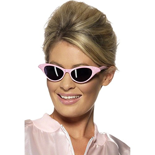 NET TOYS Gafas de Sol Retro de los años 50-60 Accesorios Lentes Disfraz Hippie