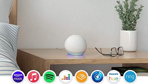 Der neue Echo Dot (4. Generation), Weiß + Amazon Smart Plug (WLAN-Steckdose), Funktionert mit Alexa