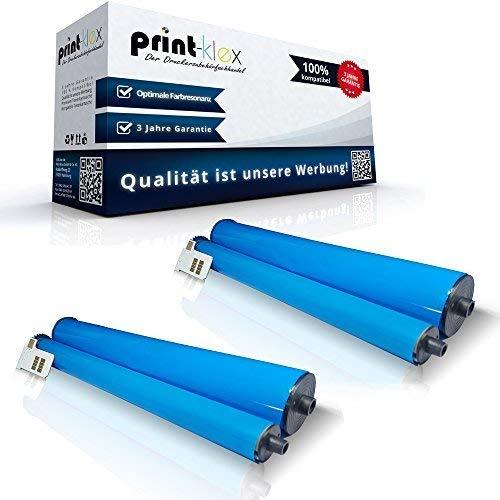 Print-Klex 2x compatibele thermorollen voor Philips Magic 5 ECO Voice Dect Trio Magic 5 ECO Voice Smart Dect Magic 5 Primo Magic 5 Primo Smart Magic 5 Primo White 252422040 PFA351 PFA 351 Office Print