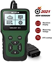 NEXPOW Car OBD2 Scanner, V311 Automotive Engine Fault Code Reader, Car Diagnostic Scan Tool with Battery Test Tool for All OBD II Protocol Cars Since 1996