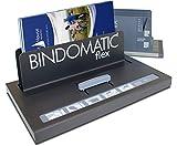 Bindomatic Thermobindegerät Flex Starter Kit mit 80er Pack Aquarelle Eco Mappen in weiß
