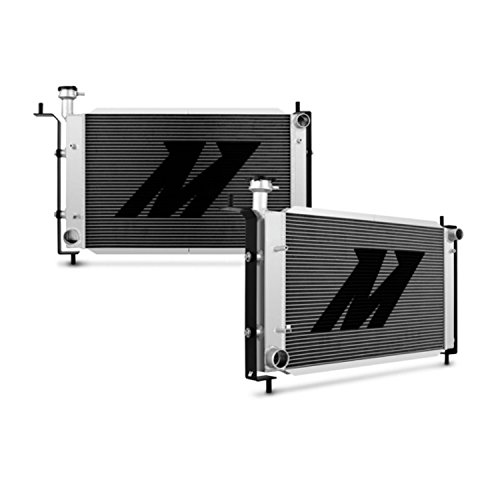 Mishimoto MMRAD-MUS-94B Bracketed Aluminum Radiator Compatible With Ford Mustang 1994-2004 Silver