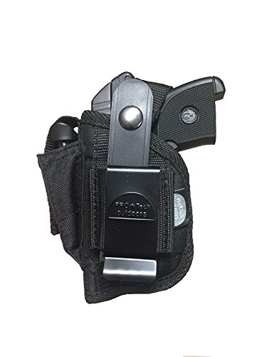 Pro-Tech Outdoors Best Belt and Clip on Holster This Gun Holster Fits All 1.5'' to 2.5'' Barrel Small Frame Autos.