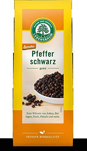 Lebensbaum Bio Schwarzer Pfeffer, ganz (2 x 50 gr)