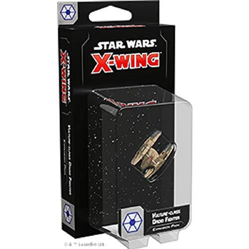 Star Wars: X-Wing 2 FFGD4124 Ed. -Droidenjäger der Vulture-Klasse, Erweiterung, Tabletop, Deutsch, Mehrfarbig, bunt