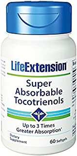 Life Extension - Super-Absorbable Tocotrienols - 60 Gels (Pack of 3)