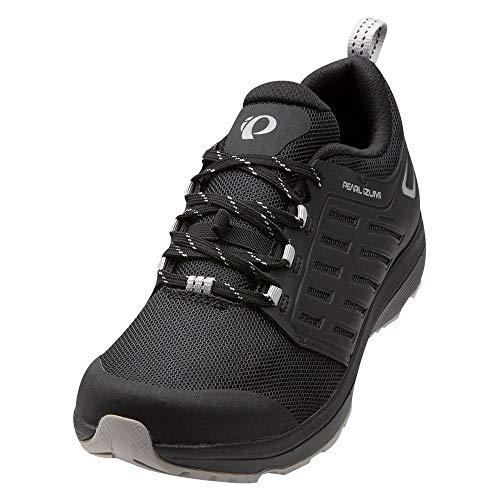 PEARL IZUMI Men's X-ALP Canyon Cycling Shoe, Black/Black, 45