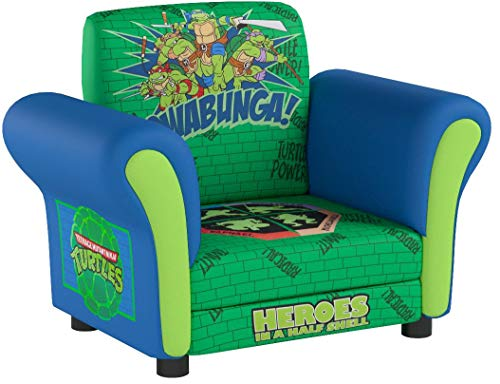 Kids, Children, Toddlers Upholstered Fabric Chair (Teenage Mutant Ninja Turtles)
