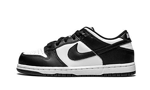 Nike Preschool Dunk Low PS CW1588 100 Black/White - Size 2Y