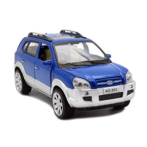 Maßstab Auto-Modell Diecast Für Hyundai Für Tucson 1/24 Maßstab Modellautometer Metall Kinder Spielzeug...
