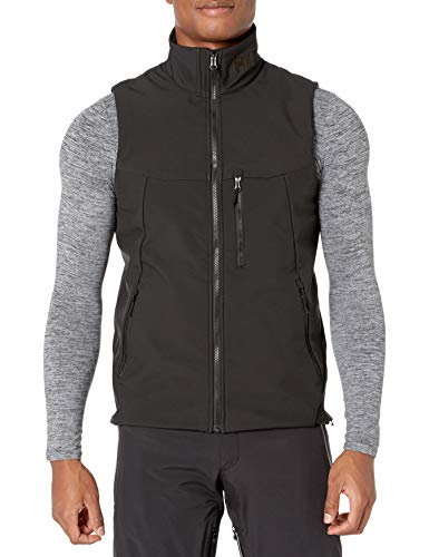 Helly Hansen Paramount Softshell Vest Chaleco, Hombre, Negro, XXL