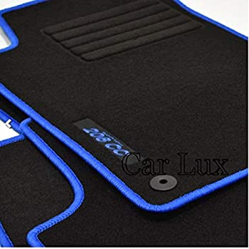 Car Lux nar00679/ /Tapis de sol en velours sur mesure pour Ibiza 6J depuis 2008 en velours avec talonnette