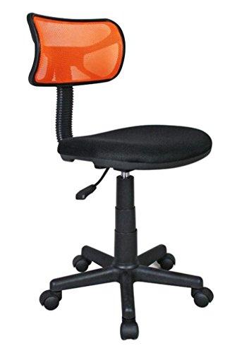 Silla de Oficina de Malla para Estudiantes. Color: Naranja