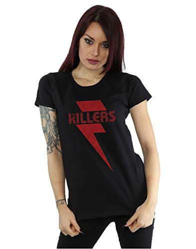 The Killers mujer Red Bolt Camiseta Small Negro