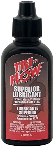 Mail order cheap Tri-Flow Industrial Max 85% OFF Lubricants 2 Oz Drip Bottle - of 12 Lot