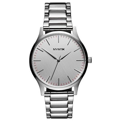 MVMT Herren Analog Quarz Uhr mit Edelstahl Armband D-MT01-S